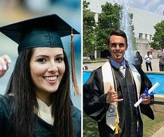 We've got two graduates at AGI Atlanta! Congrats to both Natalia and Kevin!