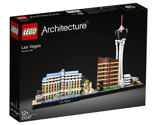Official Images of LEGO Architecture 21047 Las Vegas Released!!