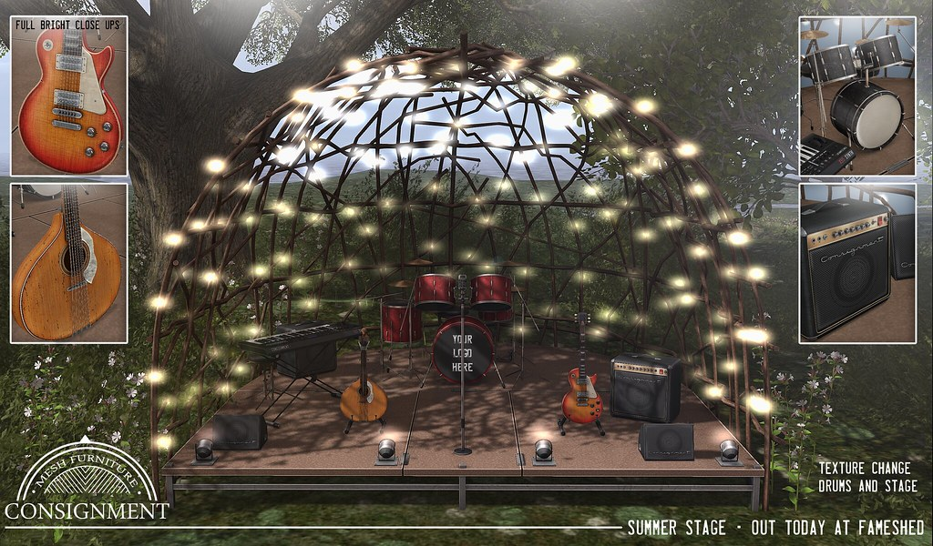 Summer Stage - Out today @ FaMESHed - TeleportHub.com Live!