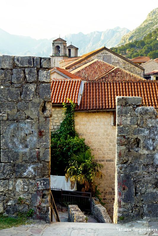 Вид с бастиона Гурдич на Старый город