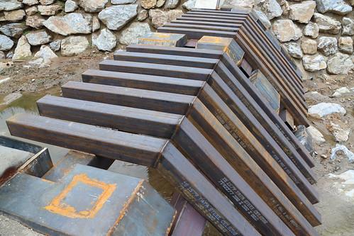 TATA Steel Geschieberückhaltesperre: Hochwasserschutz Pöneggbach Kapfenberg