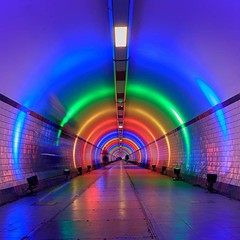 Antwerp Pride #Antwerp #pedestriantunnel