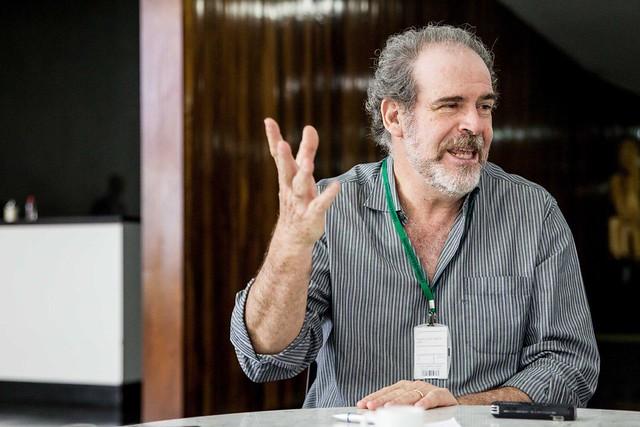 Consultor legislativo Paulo César Lima concedeu entrevista ao Brasil de Fato nesta quinta-feira (20), na Câmara Federal  - Créditos: Mídia Ninja