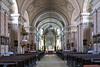 Das Hauptschiff der Domkirche