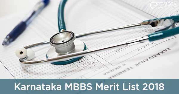 karnataka mbbs merit list