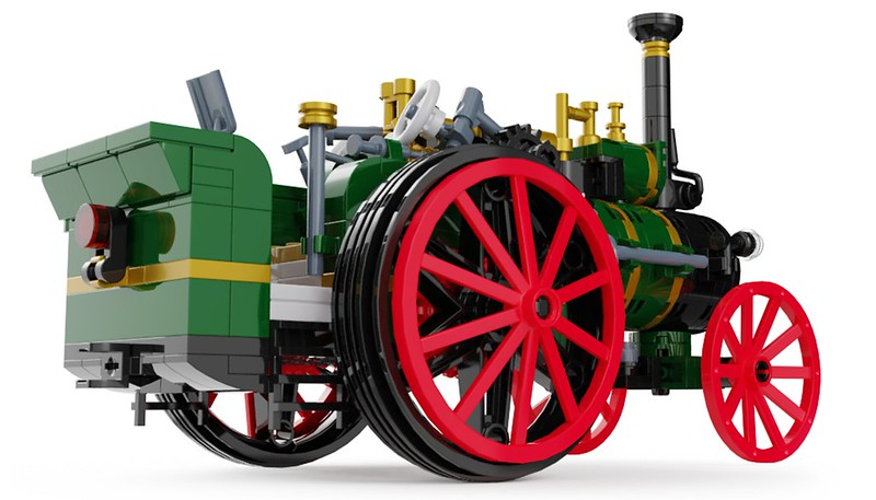 Traction Engine 4 - Lego Ideas