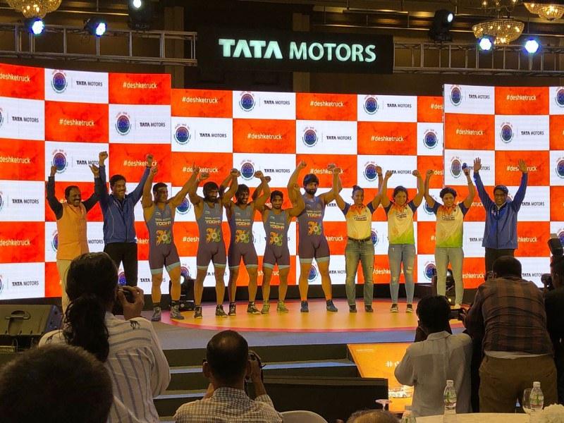 Tata Motors Wrestling Fed India