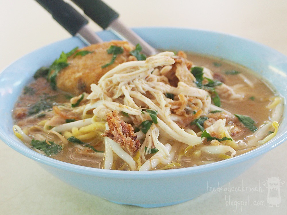 singapore,food review,food,review,mee soto,halal,halal food, haig road market & food centre, haig road,malay food,hj waliti,hj mazuki,begedil