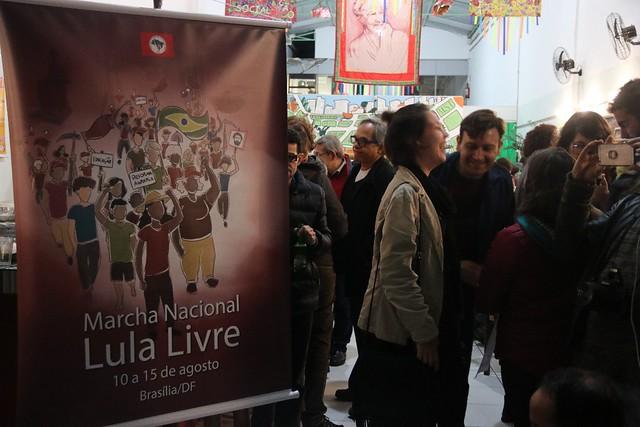 MST lança Marcha Nacional por Lula Livre em São Paulo