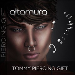 Altamura new MALE GROUP GIFT *Tommy Piercing*