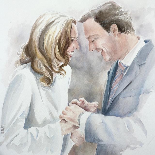 retrato-nupcial-boda-novia-bride-bodasdibujadas-mdmrobert-watercolor-acuarela-portrait-couple-