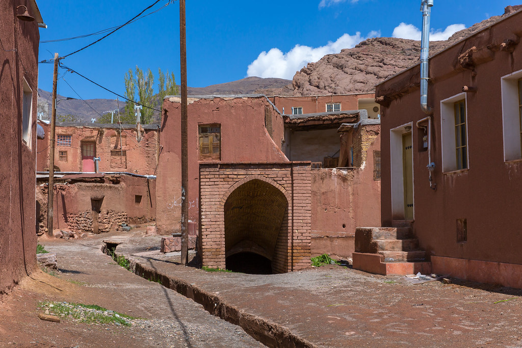 Iran. Abyaneh