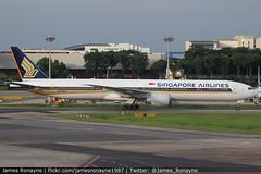9V-SWM | Boeing 777-312ER | Singapore Airlines