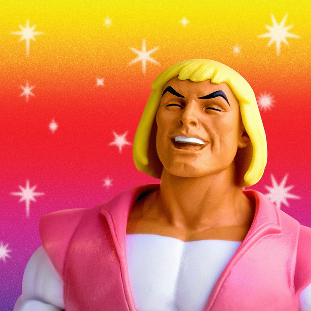 Super7 《太空超人》 燦爛笑容的「亞當王子」SDCC2018限定版本 !Super7  Prince Adam SDCC2018 Exclusive
