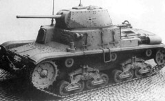 THE 15 42 TANK ..... I think this model has improved over the earlier 1940 model... the longer 47mm  gives it a more potent stinger