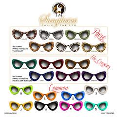 F&M Panic @ The Zoo * Sunglasses Gacha