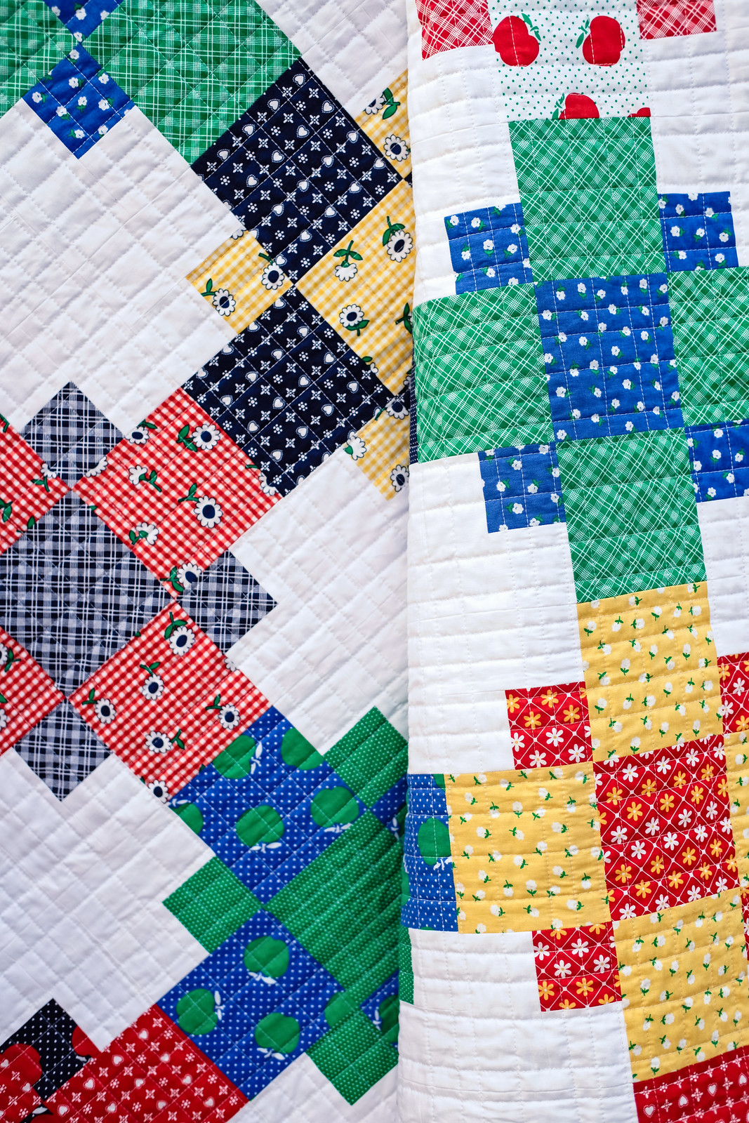 Sunnyside Ave Even-Steven Quilt - Kitchen Table Quilting