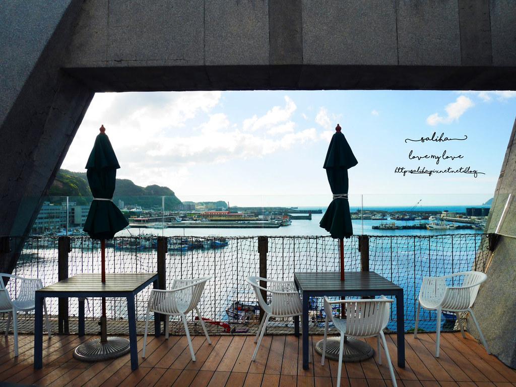 基隆中正區景觀海景下午茶咖啡NiceBay 尼斯灣海洋景觀餐廳