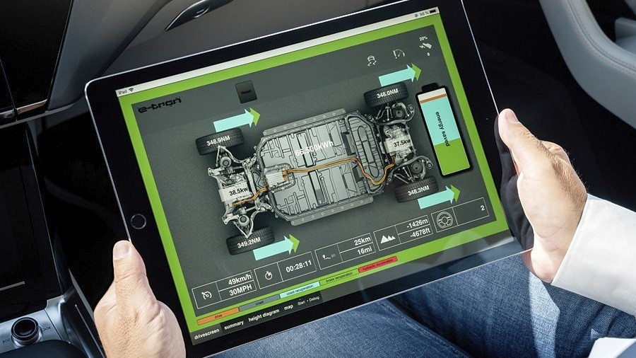 Audi e-tron rekuperacija 3