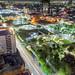 Macro Plaza Nocturna por Demodragon