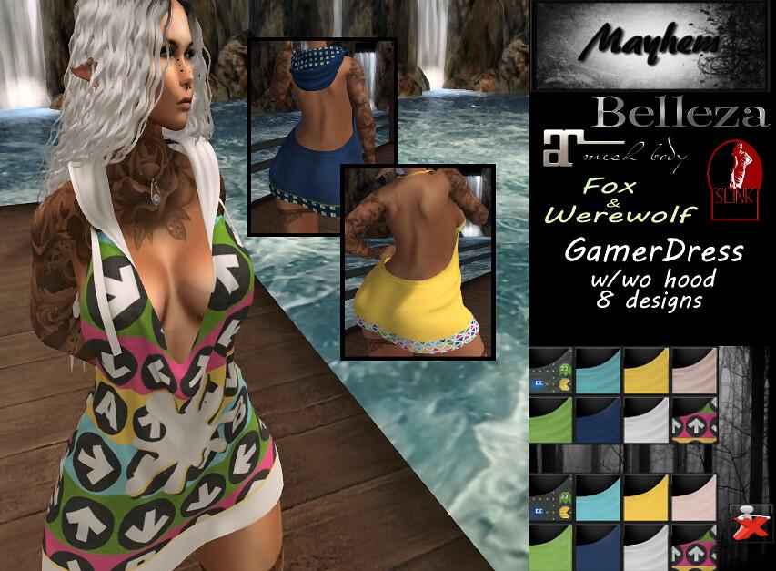 Mayhem Gamer Dress for vendor - TeleportHub.com Live!