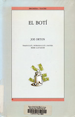 Joe Orton, El botí