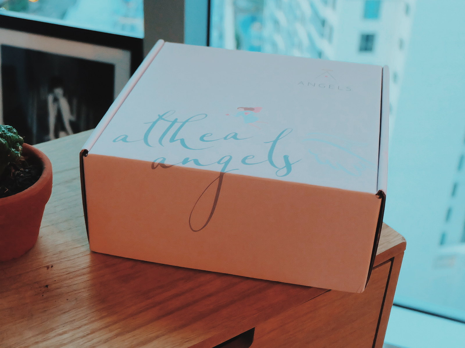 althea angels perks welcome gift unboxing