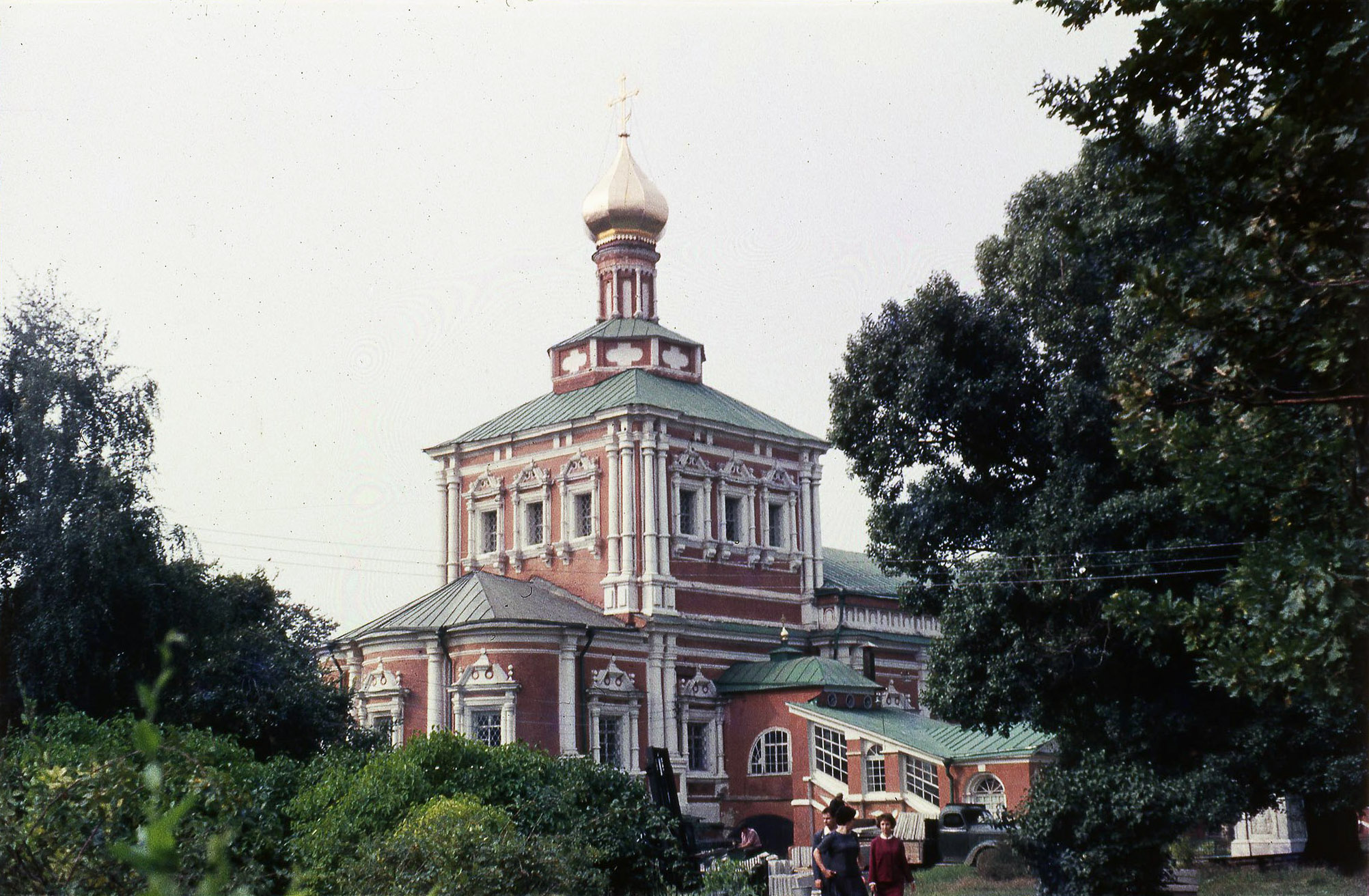 Новодевичий монастырь. Успенская церковь Новодевичьего монастыря