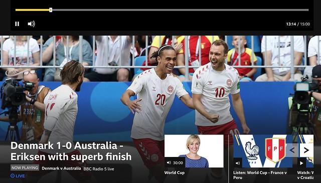 Denmark 1 - 1 Australia