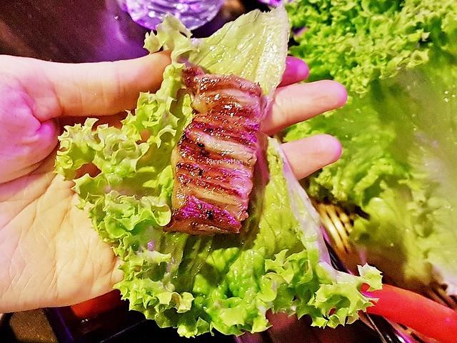 Premium Beef Striploin Lettuce Wrap