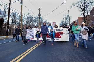 January 18, 2015 MMB Leads MLK Parade