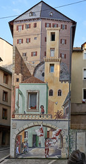 Trompe l'oeil house - Photo of Chastel-Nouvel