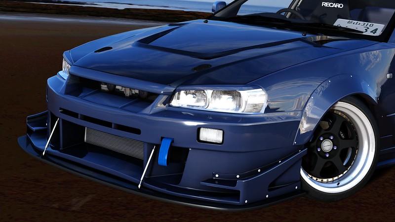 Nissan Skyline Sedan (ER34) - TKS