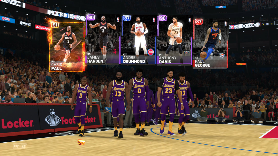 NBA 2K19 MyTeam trailer, detaylar ve ilk locker code