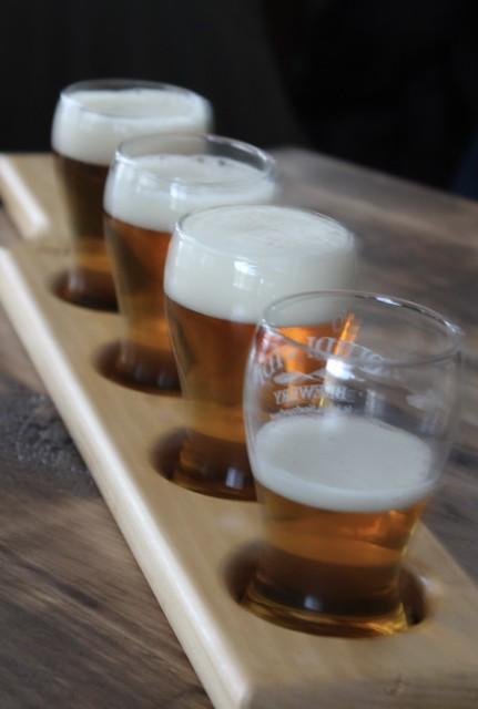 Quidi Vidi Brewery: Tour and Tasting, April 2018