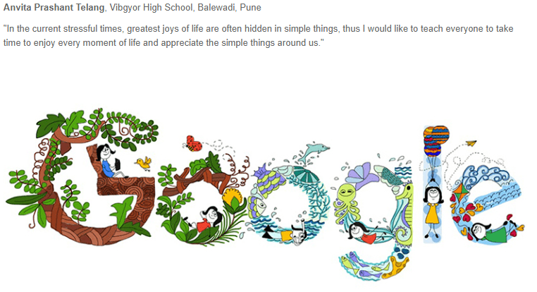 Doodle 4 Google India - Final Winner