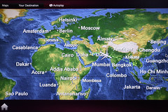 En-route From Doha to Bangkok on Qatar Airways Boeing 787 Dreamliner A
