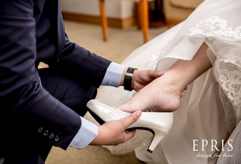 訂結婚鞋子