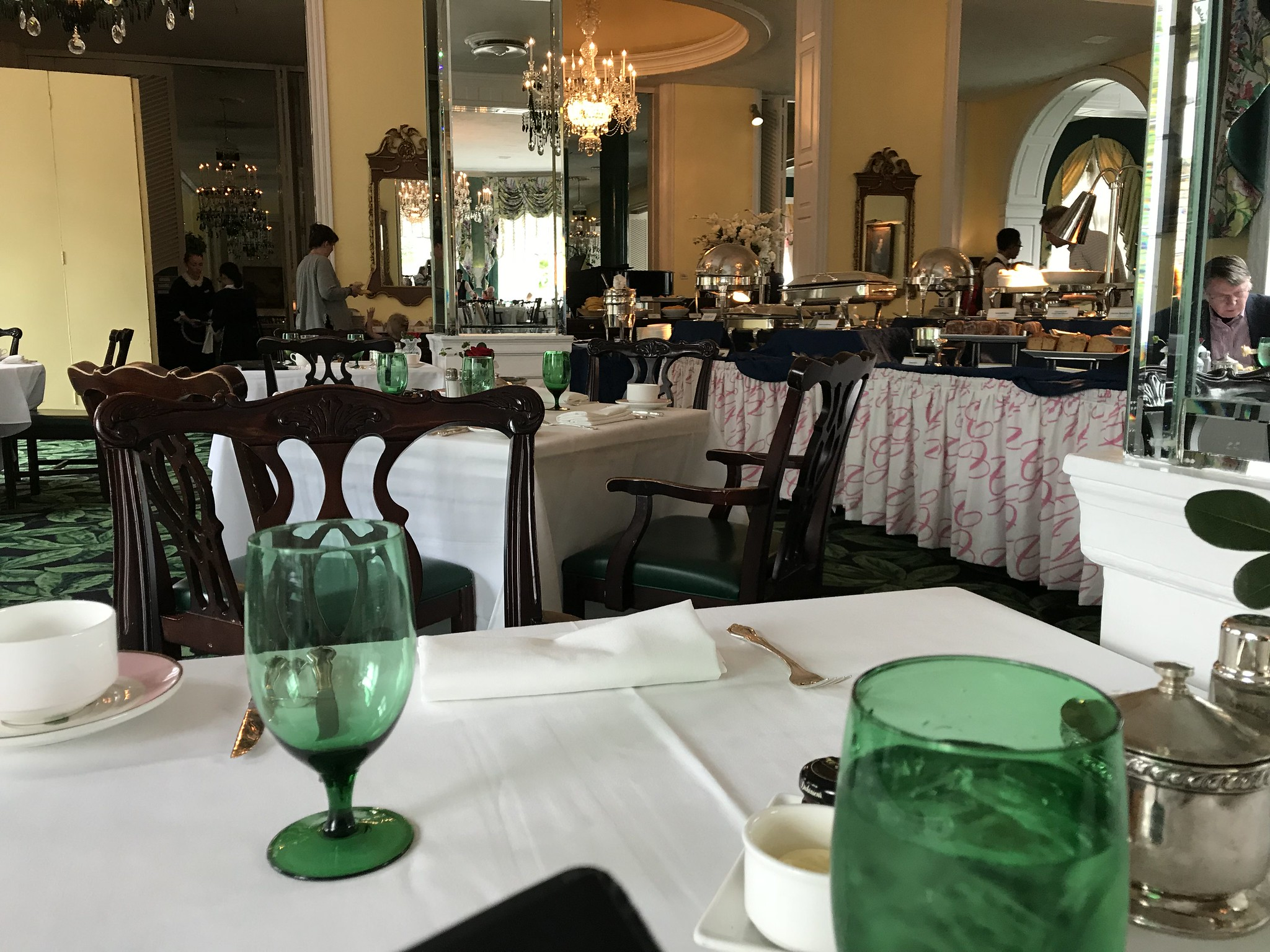 White Sulphur Springs Edition The Greenbrier Main Dining Room