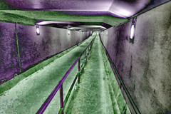 what clyde pedestrian tunnel's really like