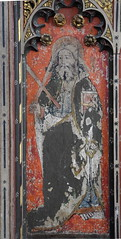 rood screen: St Andrew (15th Century)