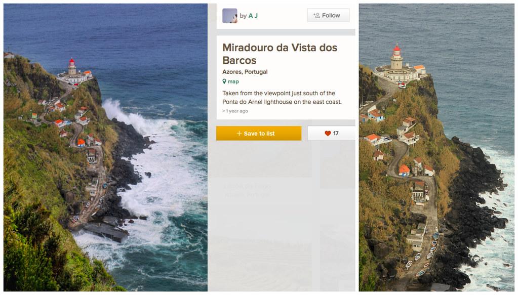 Miradouro da Vista de los Barcos, São Miguel