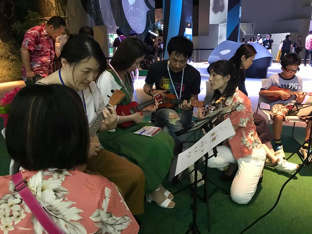 【出張レッスン】EXPO CITY@万博記念公園♪2018.7.27