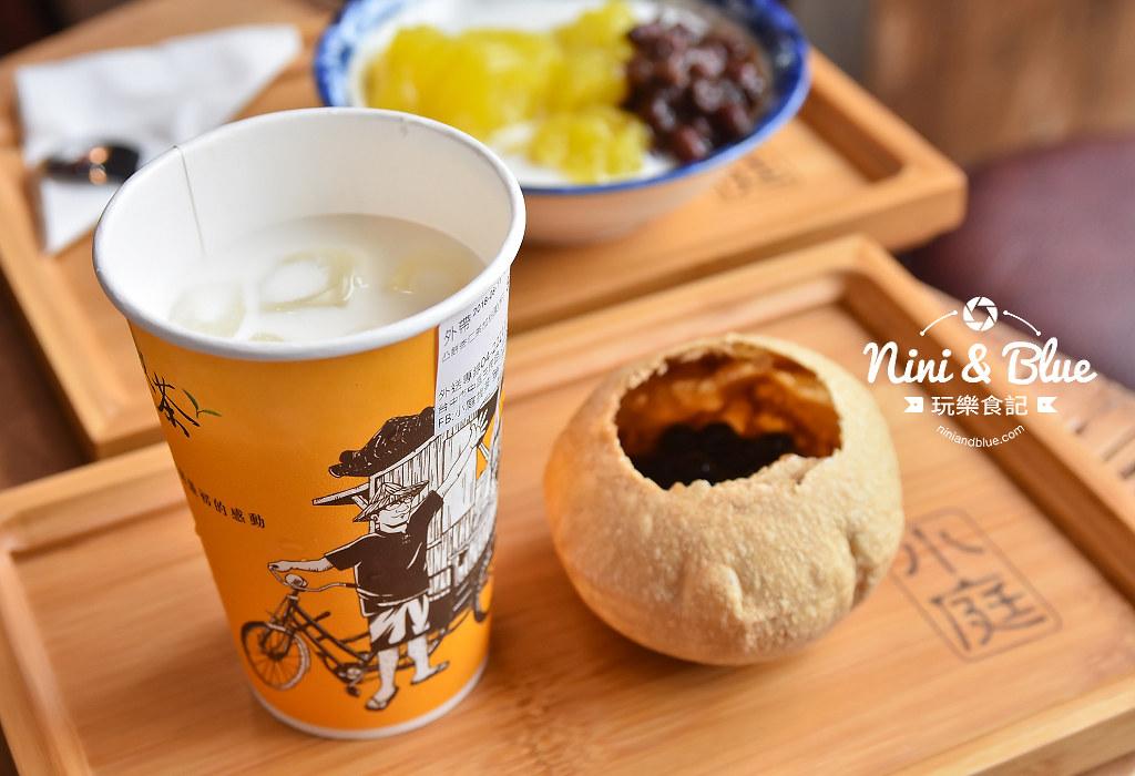 第二市場美食 小庭找茶 梅煎茶 凸餅 粉粿07