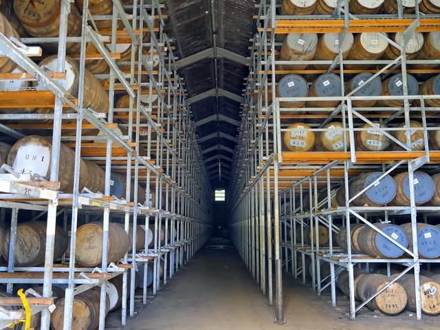 Jura Distillery Warehouse
