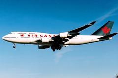 Air Canada | Boeing 747-400 | C-FCRA | London Heathrow
