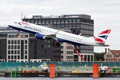 British Airways CityFlyer G-LCYJ at London City
