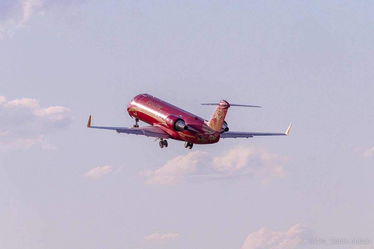Rusline CRJ-100 VQ-BNA фото 10