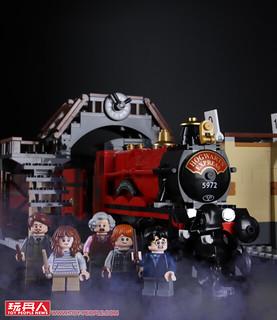 展開奇幻冒險的起點,下一站「霍格華茲」!! LEGO 75955《哈利波特》霍格華茲特快車 Hogwarts Express 開箱報告