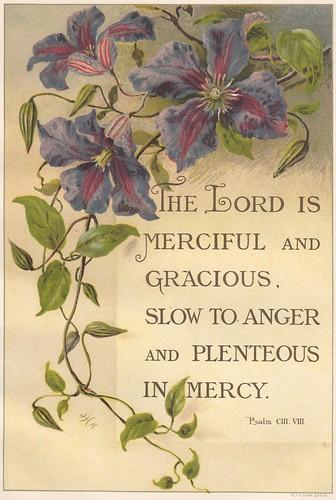 1891 Psalm 103:8